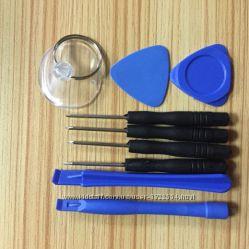 Набор инструментов для ремонта мобильных телефонов, ПК и планшетов 9 в 1.