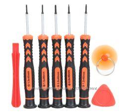 Комплект инструментов для ремонта мобильных телефонов 8 шт.