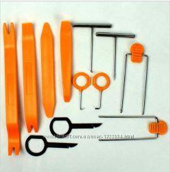 Инструменты для снятия обшивки облицовки авто 12 шт.
