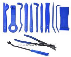 Набор инструментов для снятия обшивки облицовки авто 13шт. Без чехла