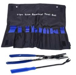 Набор инструментов для снятия обшивки облицовки авто 13шт. В Чехле
