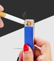 Стильная USB зажигалка 105-4. Разные цвета