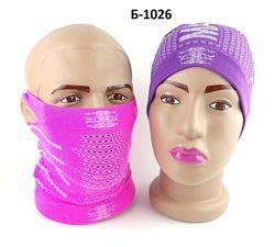 Баф - маска с отверстиями для ушей
