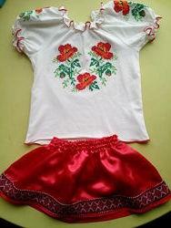 Вышиванка, украинский костюм