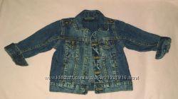 куртка джинсовая на 2-3 года