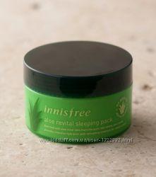 Innisfree - Ночная маска для лица с мякотью алоэ