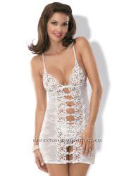 Свадебное белье Bride chemise сорочка  стринги от&nbspObsessive