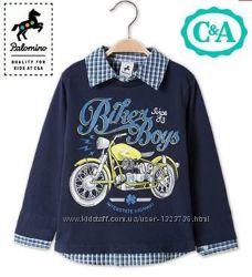 Рубашка поло на мальчика C&A Palomino 128. Германия