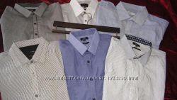 Рубашки с длинним рукавом F&F George