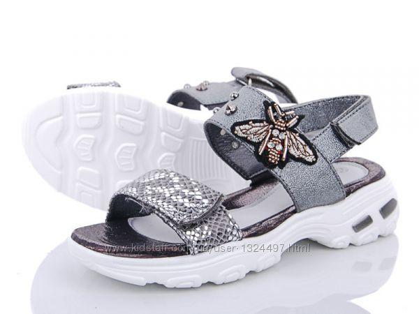 Босоножки открытые на девочку  Lilin Shoes.