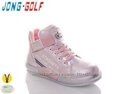 Ботинки розовые  ТМ J. Golf  Размеры 27-32