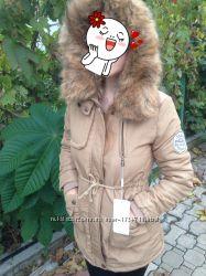 Суперовая куртка-парка  скидка