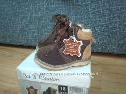 Замшеві черевички Pat at Ripaton 18р11см