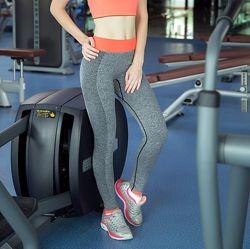 Женские спортивные лосины для фитнеса, EXP. леггинсы спорт, йога, бег