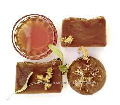 Мыло с нуля липа-мёд-прополис