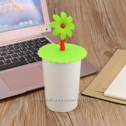 Силиконовая крышка на чашку
