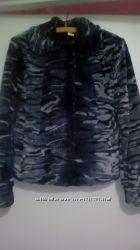Демисезонная куртка из искусственного меха, размер M-L