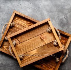 Продам деревянный поднос