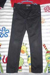 Штаны черные H&M 128, 7-8 лет в школу
