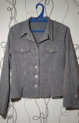 Оригинальный серый пиджак