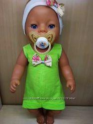 Комбинезончики для кукол Беби борн, беби берн одежда