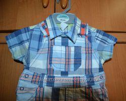 Классный костюмчик на маленького модника baby club ромпер  рубашка