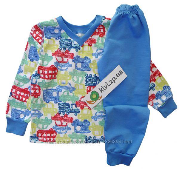 ПЖ41 пижама - домашний костюм - байка - для мальчика тм Бемби