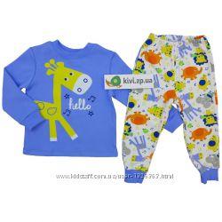 Пижама - домашний костюм для мальчика тм Бемби - тм Робинзон