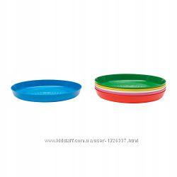 Набор тарелок, разные цвета Ikea  6 шт