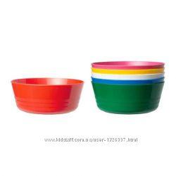 Набор мисок, разные цвета Ikea 30192960, 6 шт.