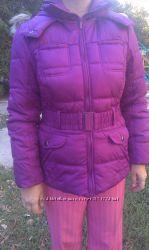 Отличная сиреневая курточка, яркая, стильная 50-52рр см замеры