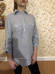 Хлопковая рубашка Forever 21 р. М