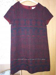 Шерстяное платье Zara 140р.