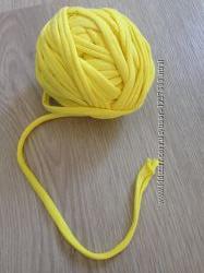Трикотажная пряжа, спаггети, ленточная пряжа, нитки для вязания