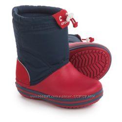 Детские сапоги Crocs Crocband LodgePoint Snow Boots. В наличии