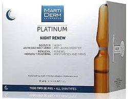 пилинг Martiderm  Night Renew Platinum обновляющая сыворотка мартидерм