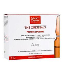 Martiderm Proteos Liposome ампулы, сыворотка для жирной/комби и чувствитель