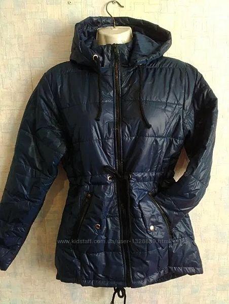 Женская удлиненная деми куртка ветровка парка весна-осень 40,42,44 норма