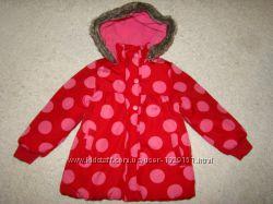 Яркая куртка Ladybird на 4-5 лет рост 104-110 см