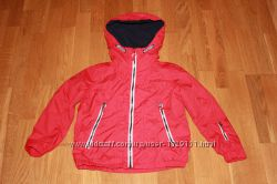 Красная куртка ветровка на флисе  Blue Zoo на 7 лет рост 122 см
