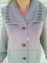 Женское кашемировое пальто большой размер