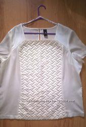 Белая блузка, 20 размер