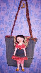 Сумка с куклой - новинка
