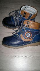 Демисезонные ботинки Clibee для мальчика стелька 18 см