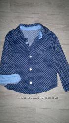 Рубашка для мальчика 104-110 см