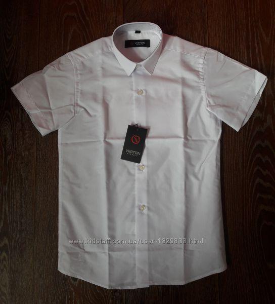 Рубашки с коротким рукавом на мальчика р. 116 - 164 Verton, Турция