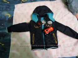 детская двусторонняя куртка демисезон бу для мальчика