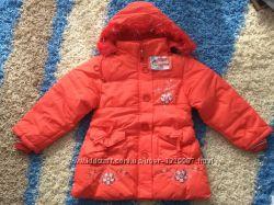 Куртка зимняя на девочку 6-7ми лет
