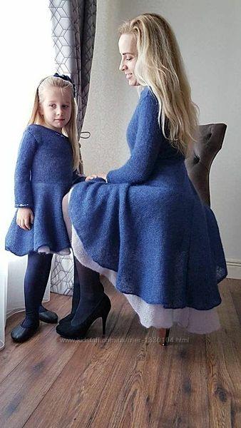 Теплая вязанная одежда