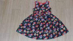 Нарядное фирменное платье 3-4г отл сост